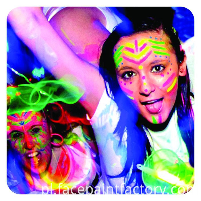 Uv Face Paint Show