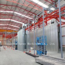 Spray Paint Line Pretreatment and Recovery System Details