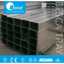 Canaleta de cables de acero galvanizado Q235 para colocar cables