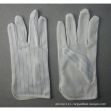 Anti-Static Light Weight Cotton Work Glove with PVC Dots
