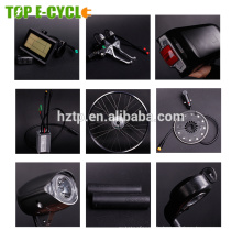 36v 10.4ah batterie au lithium 250 w arrière bafang hub moteur vélo électrique conversion kit 250 w