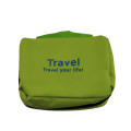 Plain canvas cosmetic bag travel