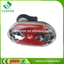 Heiße Fahrradzubehör Fahrrad mit 9 LED Sicherheitsfahrrad Rücklicht