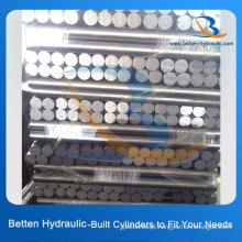 30-50 Microns Cilindro hidráulico de cromo rígido pistão Rod