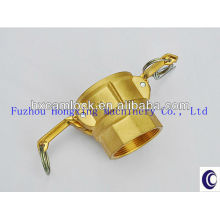 Brass hydraulic quick release coupling
