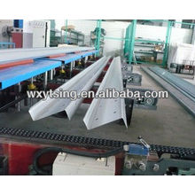 YTSING-YD-4124 Passed CE & ISO Galvanized Steel Z Purlin, Z Purlin Roll Forming Machine