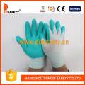 Blue Nylon with Black Nitrile Glove-Dnn800