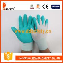 Blaues Nylon mit schwarzem Nitril-Handschuh Dnn800