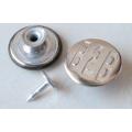 Серебро Перемещение Кнопки Джинсы B292