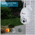 1080P 4X Zoom PTZ IP-камера WiFi