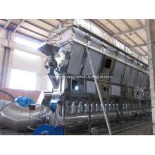 Secador de lixo fluido horizontal de infusão de medicina chinesa