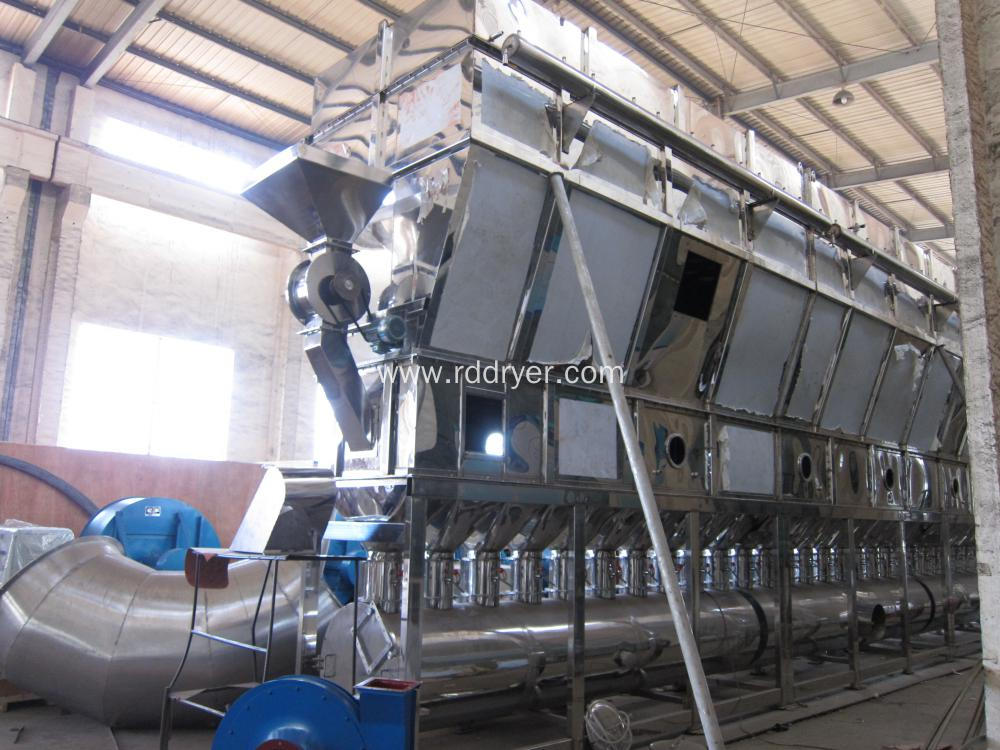 Tablet Granule Horizontal Fluid Bed Dryer machinery