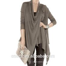15STC2006 100% cashmere poncho scarf