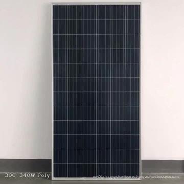 Поликристаллическая панель солнечных батарей 340 Вт низкая цена