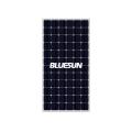 Blueusn 340w 350w 360w Photovoltaic Solar Panels 5BB Black Mono Price of Solar Panel