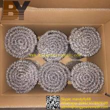Galvanisez le fil recousu par double de boucle recuit par noir de PVC