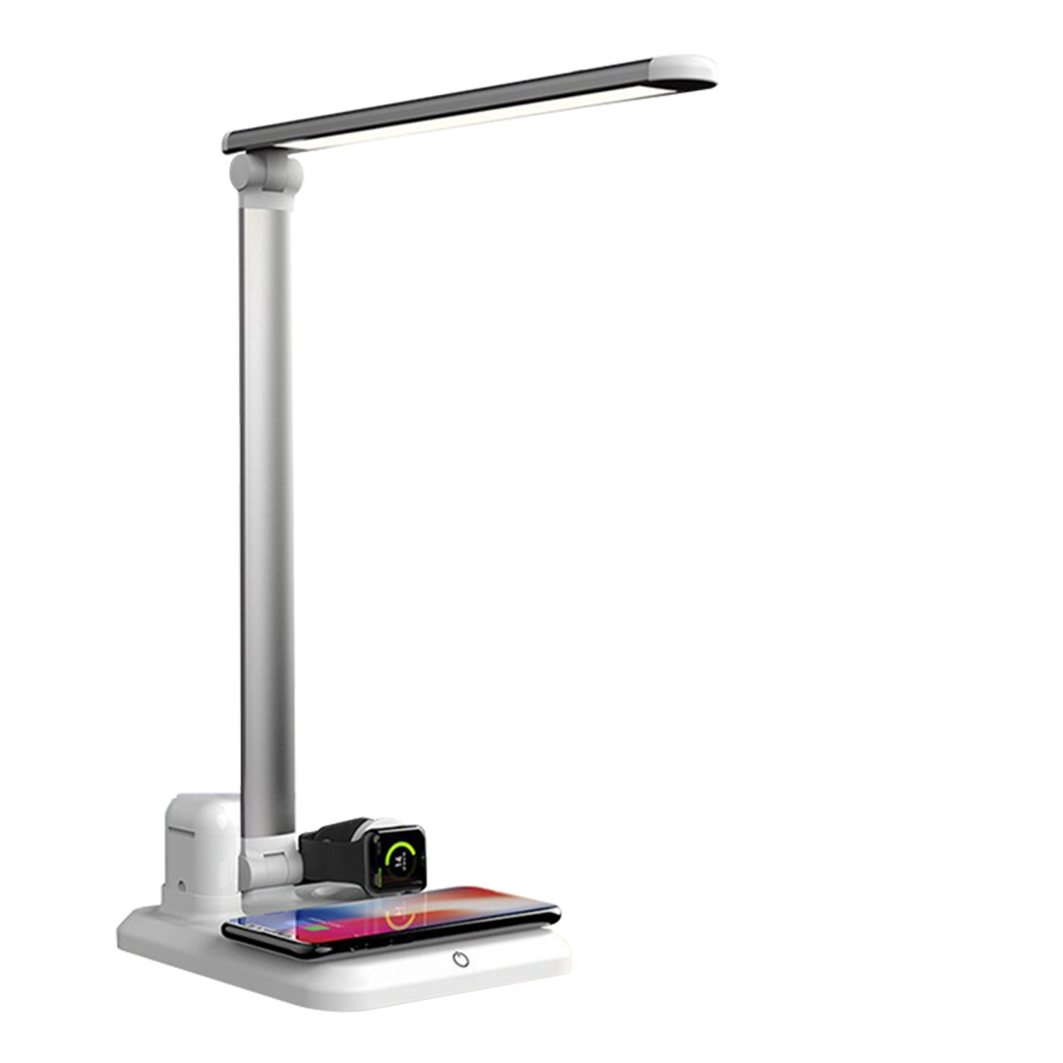 Wireless Charger Stand LED Desk Lamp