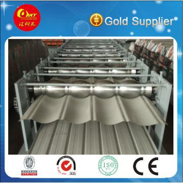 Stahldach und Wandplattenherstellungsmaschine Doppelschicht