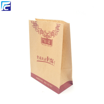 Papel Kraft Snack Packaging Popcorn Packaging Bags