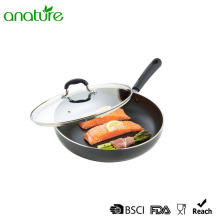Pressed Non Stick Cookware Frying Pan With Lid