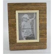 Antique Frame feito de madeira sólida para decoração de casa