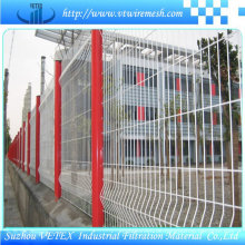 Vetex Steel Fence im Distrikt verwendet