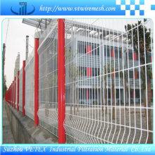 Vetex Steel Fence Usado no Distrito