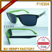 Moda gafas de sol polarizadas y gafas de sol deportivas (F15304)
