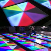DMX512 rgb interactive dmx led dance floor