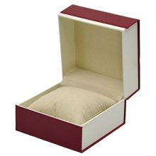 Red Watch Box Travel Business Storage Case