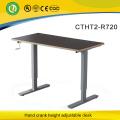 McKesson manual height adjustable frame&JX Holdings crank adjustable metal frame&Hewlett-Packard table frame height adjustable
