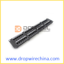 Cat 5e Patch Panels, 48 ​​Port RJ45 unshielded