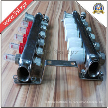 Colector de acero inoxidable para separador de calibre (YZF-L034)