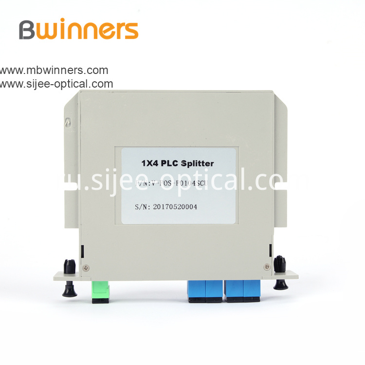 Cassette Type 1x4 Sc Pc Plc Splitter