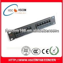 Fournisseur chinois panneau de raccordement fibre optique à 12 cœurs Meilleur achat