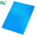 10Mm Plastic Board Transparent Color Twin Wall Polycarbonate Pc Hollow Roofing Sheet