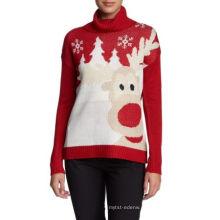 PK18ST060 rena natal camisola jumper para mulher