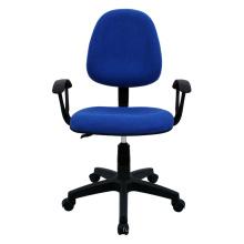 Silla ergonómica de la tela del uso general del color azul