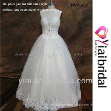 RSW104 Vestidos de boda baratos hechos en China