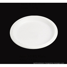 Round Soft Plastic Party Plate 9""