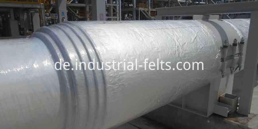 Aluminium Foil Aerogel Pipe Insulation For Petrochemical