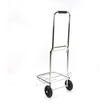 Folding traveling luggage cart