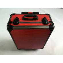 Factory Price High Quality Red Aluminum Trolley Case (KELI-trolley-01)
