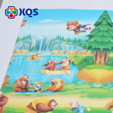 Customizable low price heat transfer TPU large play mats for toddlers BPA free
