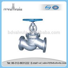 Válvula de globo de acero inoxidable válvula de globo de 6 pulgadas