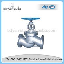 stainless steel bellow globe valve 6 inch globe valve