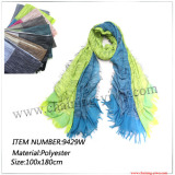 Nice Looking 100% Polyester Scarf