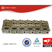 Original YUCHAI engine cylinder head L3000-1003170