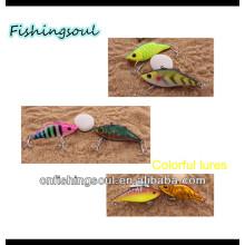 VBL026 13g en plastique vibration dur pêche en plastique dur leurre de vibration de pêche
