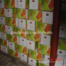 2016 nouvelle usine de carottes bon marché taille 80-150g